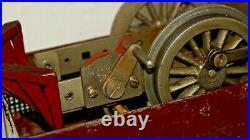 1912-14 Rare Lionel Prewar #53 Maroon Electric Locomotive Mechanical Reverse