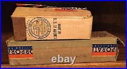 1937 Prewar Lionel O Gauge 763e/263w Gunmetal Gm Boxes Only. Wow. Vintage Box. M7