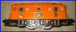 9U Orange Engine with 428 429 430 cars Lionel Tinplate Prewar Set