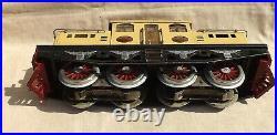 C. 1912 Prewar Lionel 408E Set Original Mojave Paint 418, 419, 431, 490, 408E