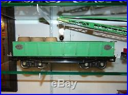 Desirable Lionel Original Prewar Late Nickel Work Train Set #358WX with 3 Boxes