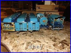 Excellent Lionel Original Prewar BOXED Blue Comet Set #396E