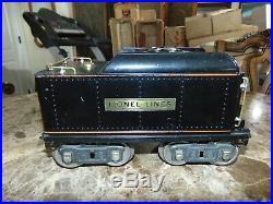 Excellent RARE Lionel Original Prewar #390TX Tender