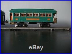 FULLY RESTORED Prewar Lionel Standard Gauge 10E Locomotive Passenger Train Set