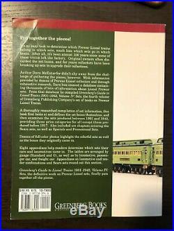 Greenberg's Guide to Lionel Trains 1901-1942 Volume IV Prewar Sets McEntarfer
