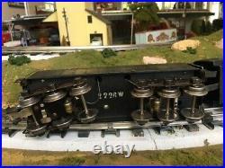 LIONEL #226E PRE-WAR and 2226 W tender. 1938. Very good condition