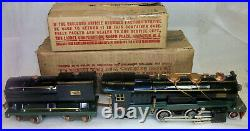 LIONEL PREWAR LARGE 260E & 260T STEAM LOCO & TENDER VERY NICE withORIGINAL BOXES