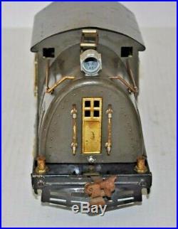 LIONEL PREWAR ORIGINAL SET 10E LOCO, With332,339,341 PASS. CARS ST. GAUGE