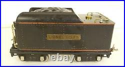 LIONEL PREWAR STD. GAUGE 390E STEAM LOCO With390T TENDER-OB'S & MASTER CARTON