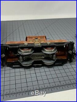 LIONEL PREWAR TINPLATE 252 Terra-cotta black frame ENGINE OB L22