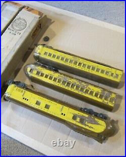 LIONEL PRE WAR 752W 753 754 UNION PACIFIC With BOXES