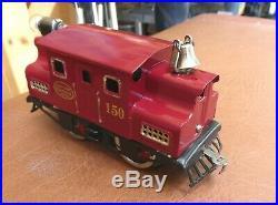 LIONEL Prewar 150 Engine Electric antique Rare from 1917-20, Serviced & restored