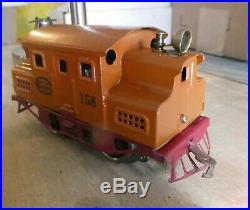 LIONEL Prewar 158 Engine Electric -antique Rare from 1919, Serviced & restored