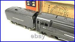 LIONEL Prewar 238E Pennsylvania Steam Locomotive Engine & 265W Tender -Gorgeous
