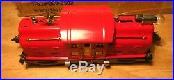 LIONEL Prewar 252 rare type RED Engine-Vintage/Antique 1926 Serviced Restored