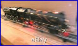 LIONEL-Prewar 260E-Engine 260T Black/Yellow strip serviced-refurbished, Rarer