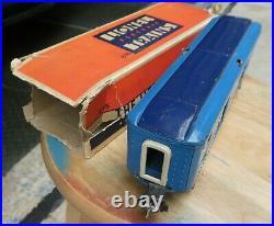 LIONEL-Prewar Blue Comet 615 Baggage car, VG used original condition with box