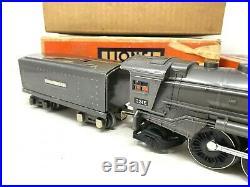 LIONEL Prewar Gunmetal 224E Steam Engine Locomotive 2689W Tender -SUPERB HIGH C8