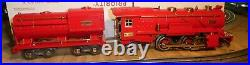 LIONEL-Prewar RED COMET 260E-Engine & tender from my collection Exc, restored