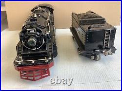 LIONEL STANDARD GAUGE #1835E BLACK STEAM ENGINE With1835W TENDER