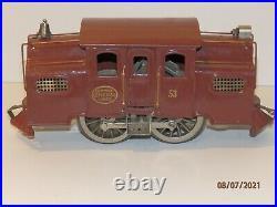 LIONEL Standard Gauge Prewar 53 Center Cab Electric Locomotive