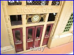 Lionel 112 City Station Early Colors Illum Prewar O Gauge X6190