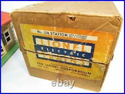 Lionel 134 Station Train Control Late Colors OB Prewar O Gauge X4069