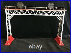 Lionel 1932 Prewar Signal Bridge #440N