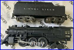 Lionel 226e Locomotive with 2226WX tender prewar Rare