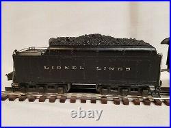 Lionel #226e Pre-war Steam Engine & 2226wx Whistle Tender