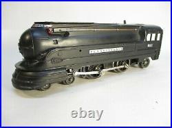 Lionel 238 PRR Torpedo Loco Uncat Black Prewar O Gauge X6249