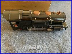 Lionel 242E Pre-War Boxed Set 259E Locomotive, 257T Tender, 603&604 Orange