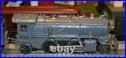 Lionel 249E Prewar Tinplate Engine with a 265T Tender