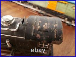 Lionel 249E with 265W Tender. 1717 1719 1722 Prewar Set