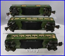 Lionel 2613S Vintage O Prewar Passenger Car Set # 2613, 2614 & 2615