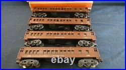 Lionel 2623 Prewar Madison 4 Cars E+ To Ln In Ob's All Original