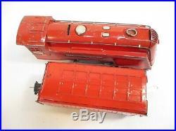 Lionel 264E Red Comet Loco 265T Tender 1936 Prewar O Gauge X3679