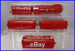 Lionel 291E Vintage O Prewar Red Comet Set 264E, 603, 603, 604 Restored