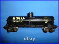 Lionel #2955 Prewar O-Gauge Shell Semi-Scale Tank Car. Excellent+ Beautiful