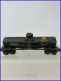 Lionel 2955 Sunoco Tank Car Semi Scale 1941 Prewar O Gauge X2627