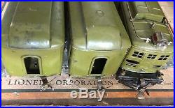 Lionel 351e Prewar Standard Passenger Set