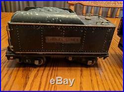 Lionel 390 Standard Gauge Steam Locomotive with Tender pre war