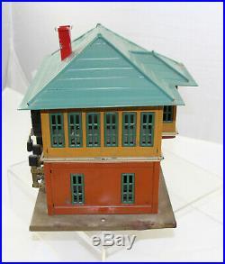 Lionel 437 Switch Signal Tower Station Prewar