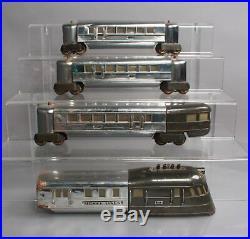 Lionel 616 O Prewar Flying Yankee Passenger Set (616,617, 618) Type III