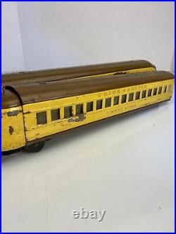 Lionel 752E Vintage O Pre-war Union Pacific M10000 Streamliner Set