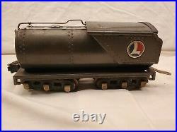 Lionel 763-E Gun Metal Prewar Hudson With Oil Tender