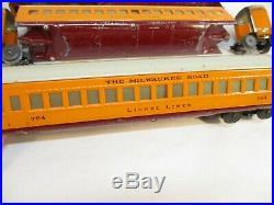 Lionel 782, 783, 784 Hiawatha Streamline 072 Pass Cars Prewar O Gauge X2995
