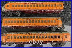 Lionel 782, 783, 784 Hiawatha Streamline Car Set Prewar O Gauge RARE