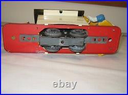 Lionel Donald Duck handcar windup train, prewar, exc cond box, key, track, liner
