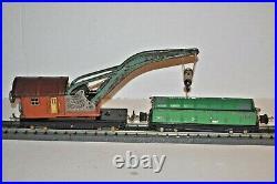 Lionel Lines Prewar 810 Operating Crane & 812 Gondola Car O Gauge